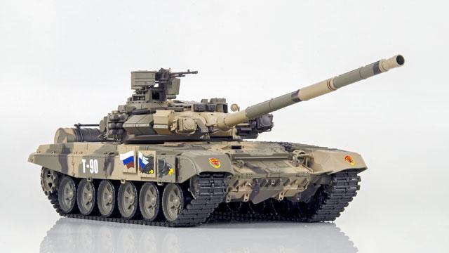 Tank Russian T-90 1/16 Xích Nhựa (RTR 2.4G) 011