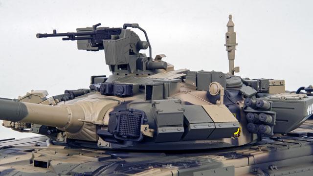 Tank Russian T-90 1/16 Xích Nhựa (RTR 2.4G) 014