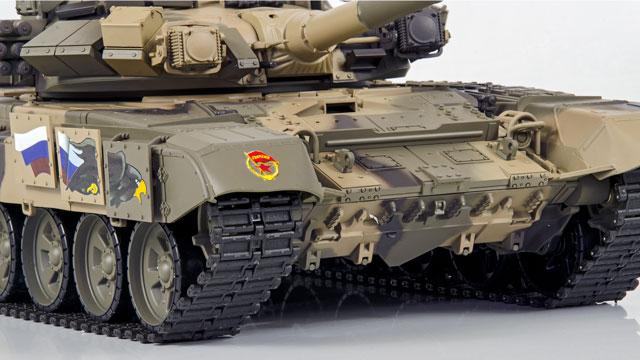 Tank Russian T-90 1/16 Xích Nhựa (RTR 2.4G) 017