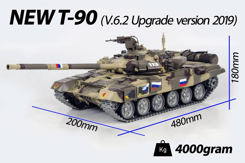 Tank New T-90 v.6.2 (Upgrade 2019) 0051