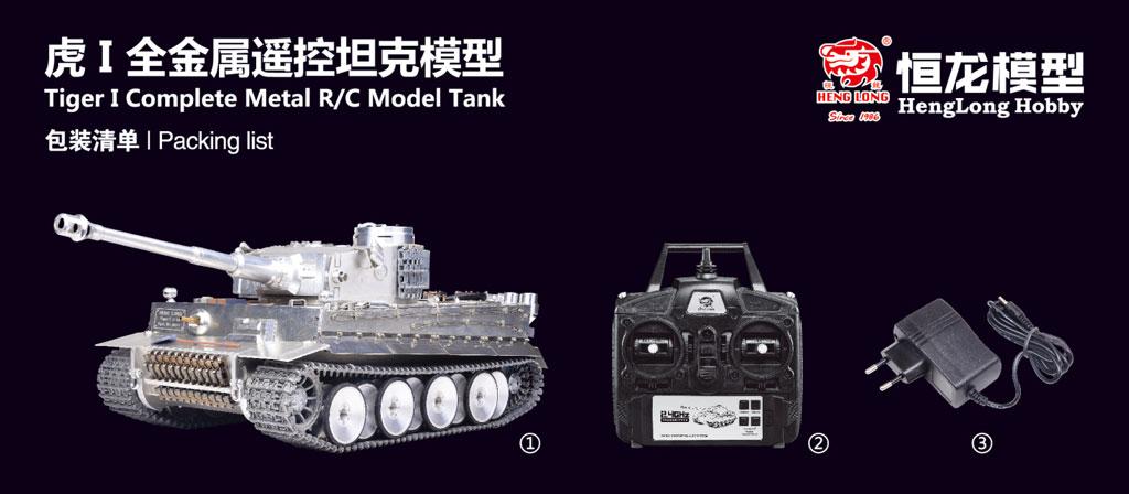 Taigen 1/16 Tank Tiger Full Metal 003