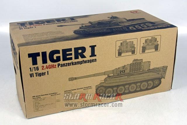 Taigen 1/16 RC Tank Tiger I 001