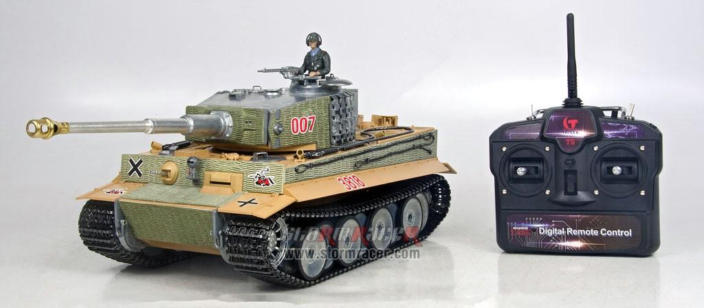 Taigen 1/16 RC Tank Tiger I 003