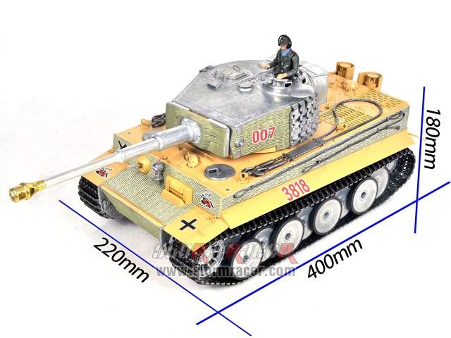 Taigen 1/16 RC Tank Tiger I 008