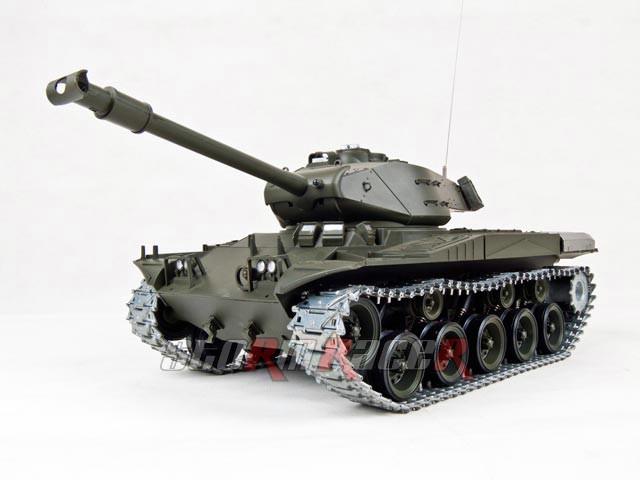 Tank US M41-A3 xích kim loại  (1/16 RTR)