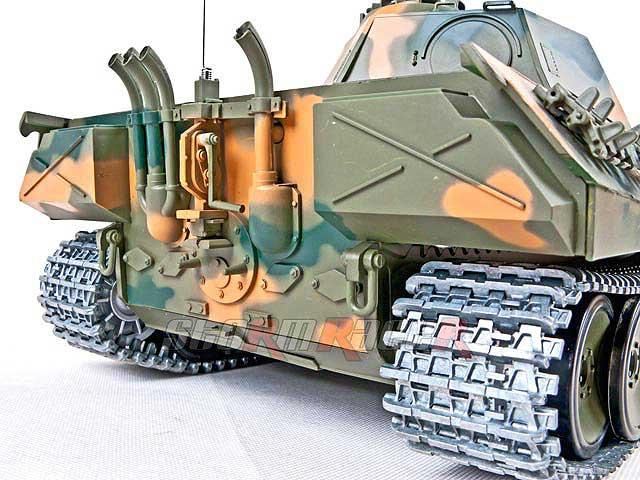 Tank German Panther Xích kim loại (1/16RTR)