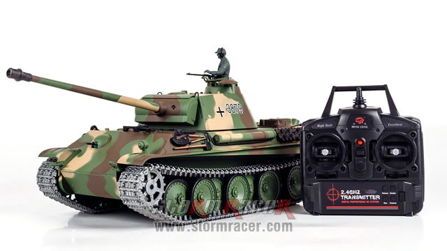 Tank German Panther Type G 2,4G 002