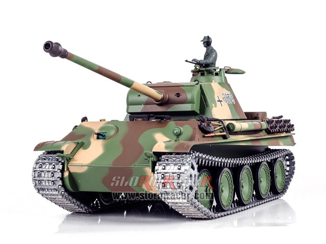 Tank German Panther Type G 2,4G 005