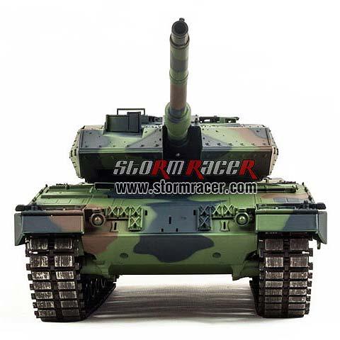 Tank LEOPARD 2A6 xích kim loại (1/16RTR)