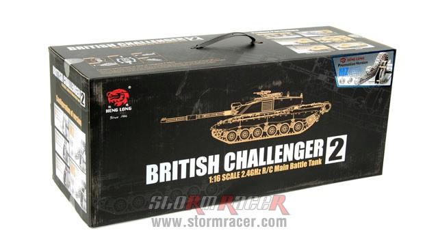 Tank British Challenger 2 xích kim loại 1/16 (2,4G RTR) 001
