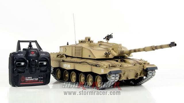 Tank British Challenger 2 xích kim loại 1/16 (2,4G RTR) 005