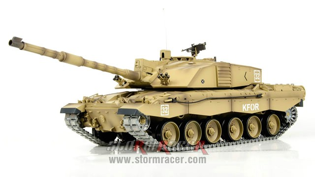 Tank British Challenger 2 xích kim loại 1/16 (2,4G RTR) 011
