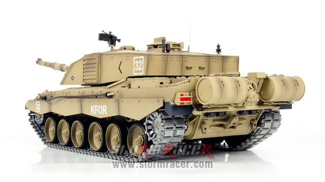 Tank British Challenger 2 xích kim loại 1/16 (2,4G RTR) 019