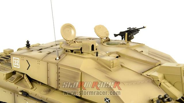 Tank British Challenger 2 xích kim loại 1/16 (2,4G RTR) 021