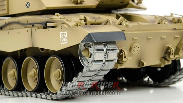 Tank British Challenger 2 xích kim loại 1/16 (2,4G RTR) 024
