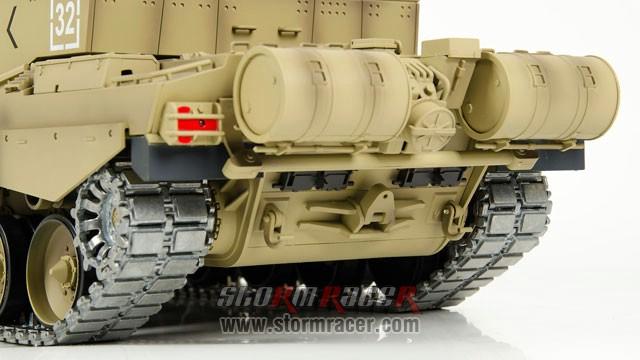 Tank British Challenger 2 xích kim loại 1/16 (2,4G RTR) 026
