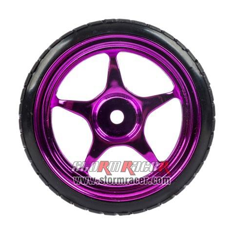 1/10 Drift Tires Set 26mm #8130P