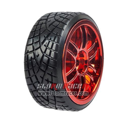 1/10 Drift Tires Set 26mm #8133R1
