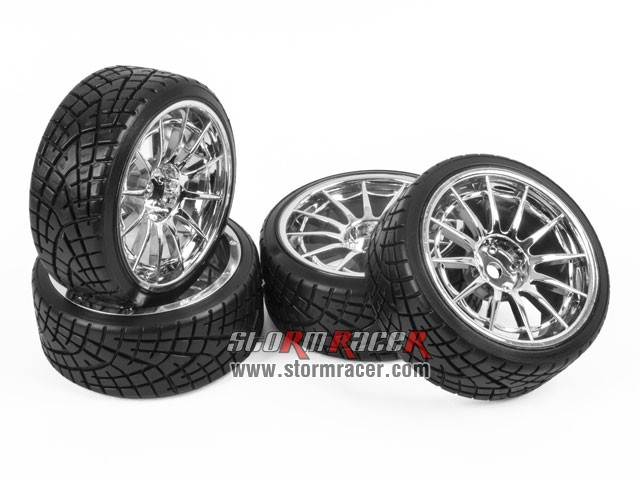 1/10 Drift Tires Set 26mm #8306S4