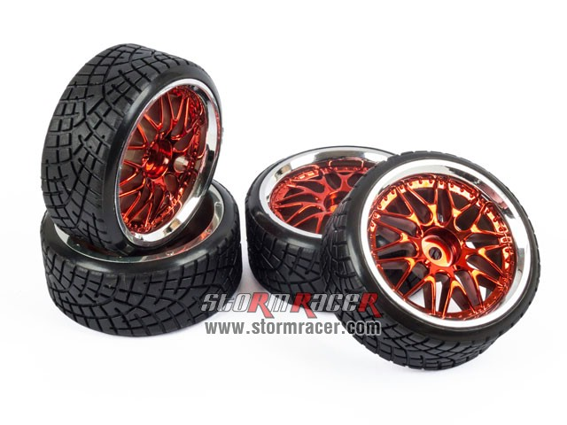 1/10 Drift Tires Set 26mm #8309RS4