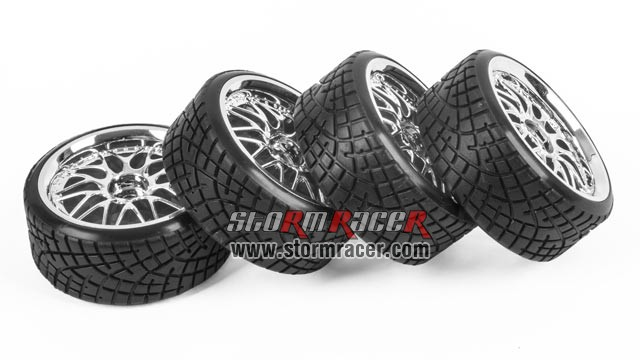 1/10 Drift Tires Set 26mm #8309S4