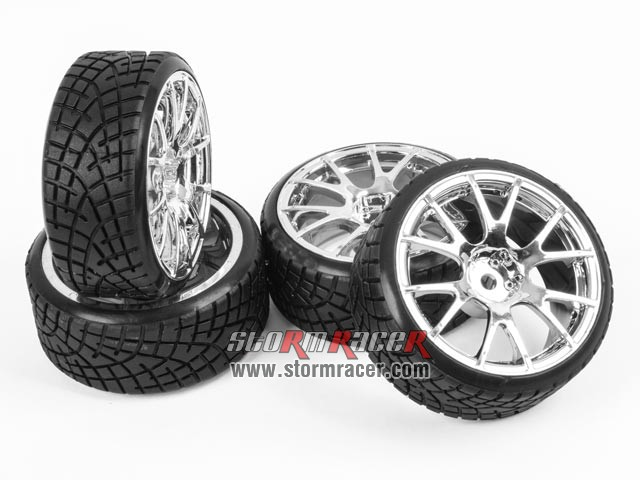 1/10 Drift Tires Set 26mm #8325S3