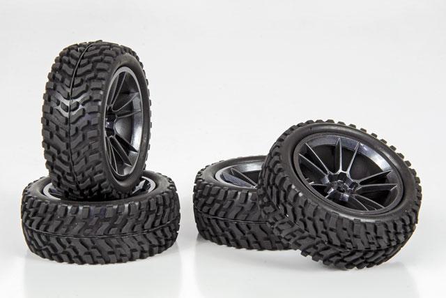 HPI 1/10 Rally Tires Set #3845-4 (30mm) 002