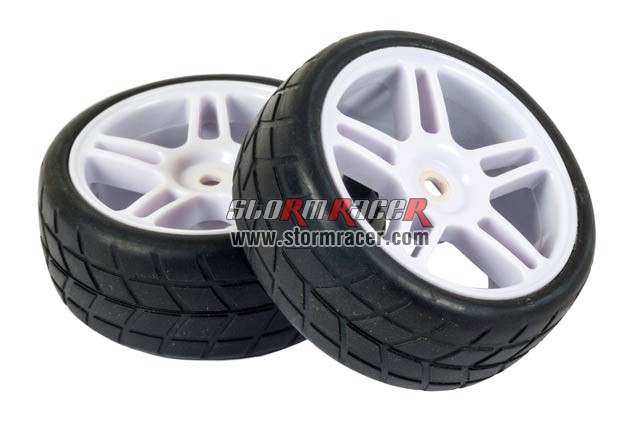 HSP 1/10 Onroad Tires Set (2P) 001