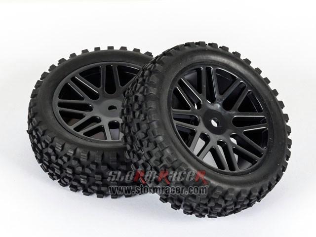 SST Buggy 1/10 Front Tires SR-09020026 001