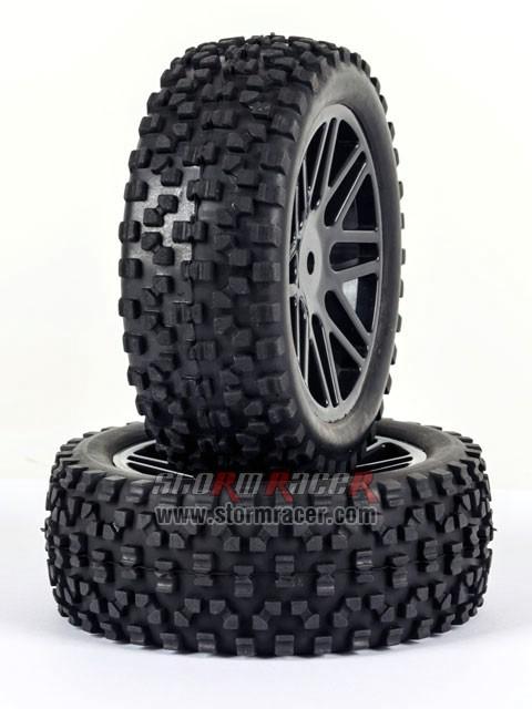SST Buggy 1/10 Front Tires SR-09020026 002