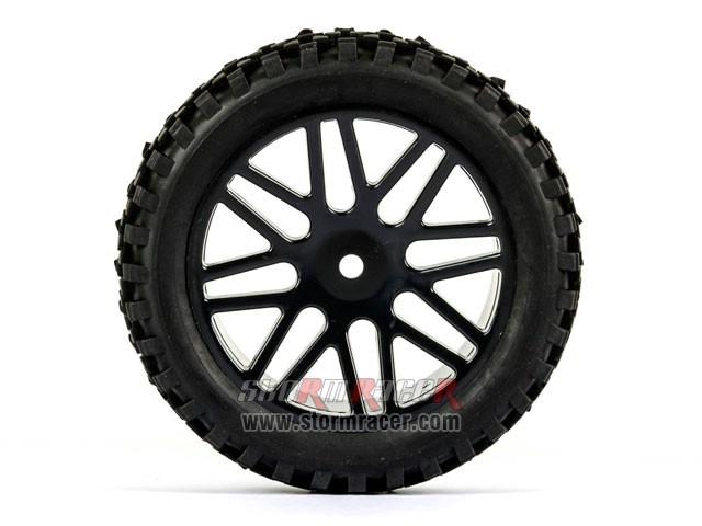 SST Buggy 1/10 Front Tires SR-09020026 003