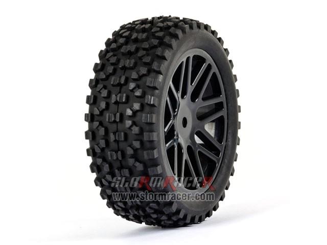 SST Buggy 1/10 Front Tires SR-09020026 004