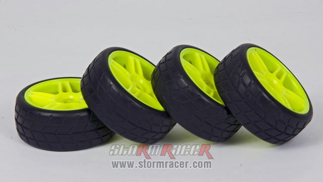 HSP Onroad Tires 1/10 003
