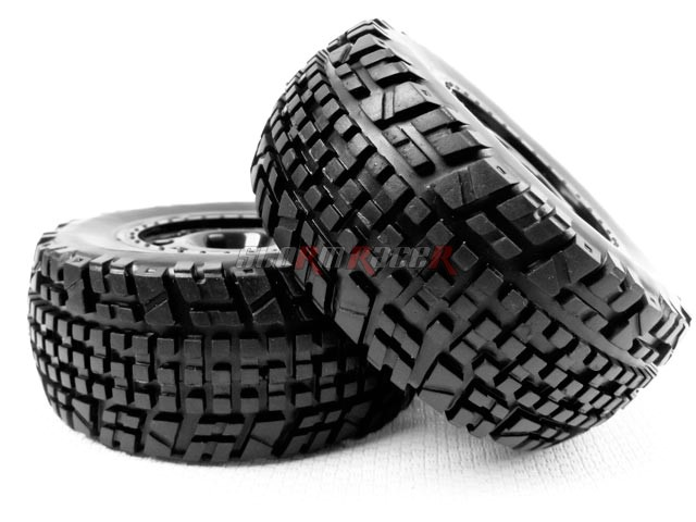 HobbyPro 1/10 Rally Tires Set H2WSR (2P)