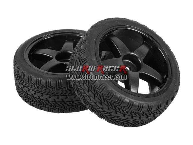 Hongnor 1/10 Onroad Tires Set 26mm ES-35-SPORT 001