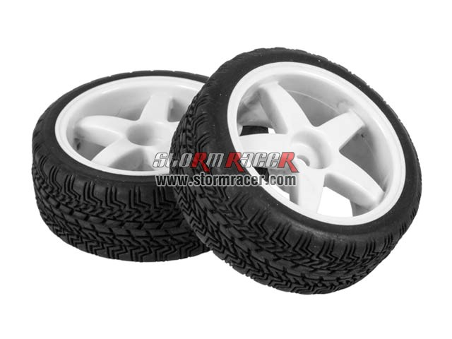Hongnor 1/10 Onroad Tires Set 26mm ES-35-SPORT 002