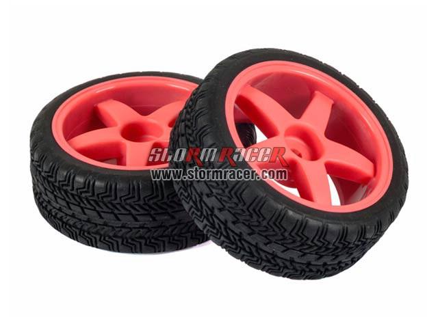Hongnor 1/10 Onroad Tires Set 26mm ES-35-SPORT 003