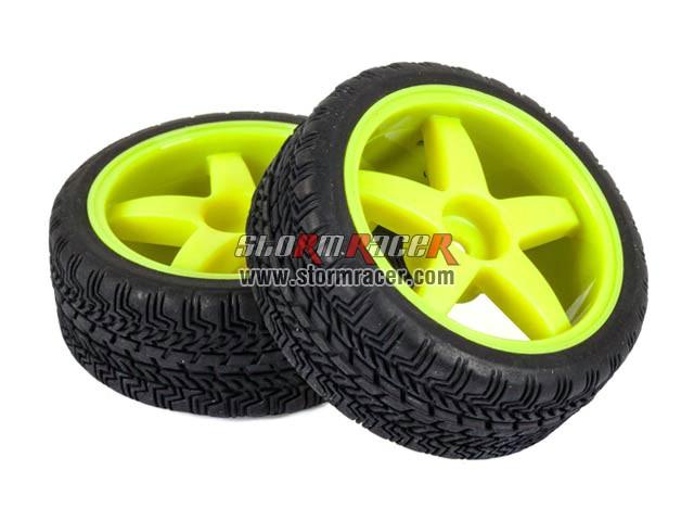 Hongnor 1/10 Onroad Tires Set 26mm ES-35-SPORT 004