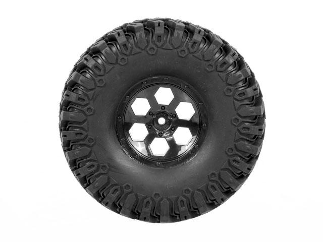 RGT Rock Tires Set 120mm 007