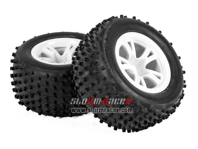SST 1/10 Buggy Tires Set Cross-Pins 001
