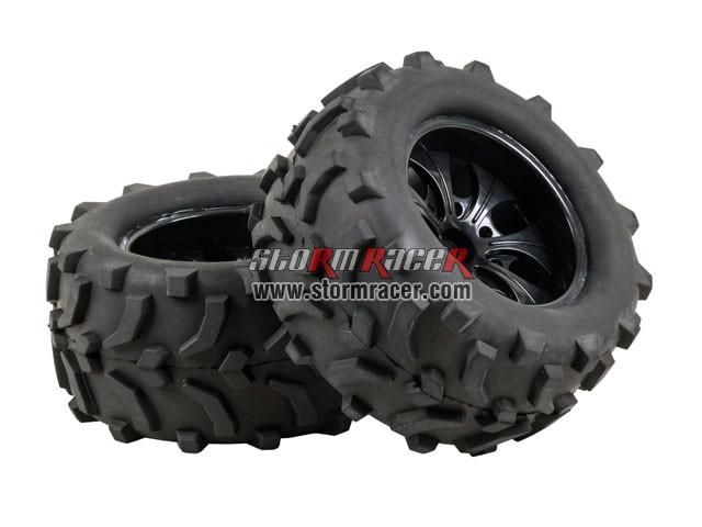 SST 1/10 Truck Tires Set 01