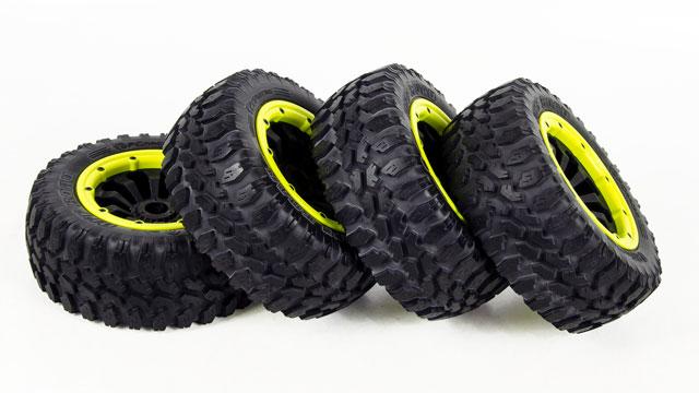 FID 1/5 Monster Tires Set 195*75mm (4P) 002