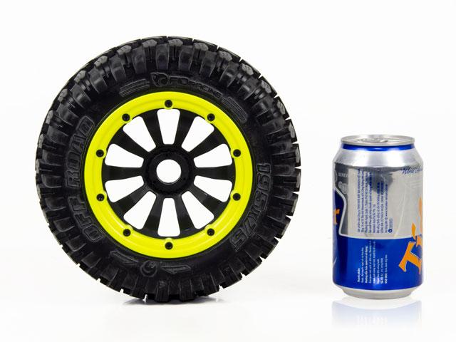 FID 1/5 Monster Tires Set 195*75mm (4P) 006