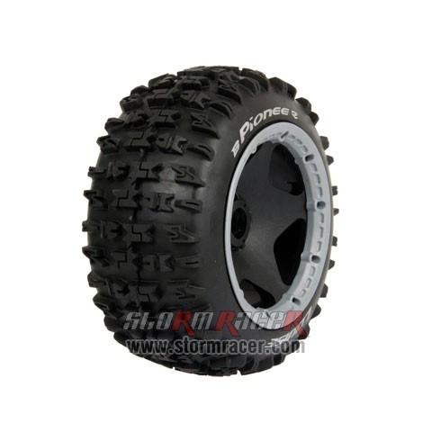 Louise 1/5 Baja Rear Tires Set L-T3243 004