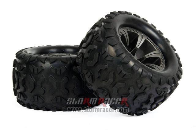 HoBao MT Truck 1/8 Tires Set BT-503 004