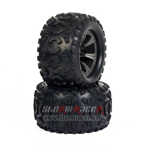 HoBao MT Truck 1/8 Tires Set BT-503 005