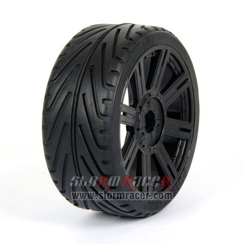 Hongnor BT-110 Black Wheel 004