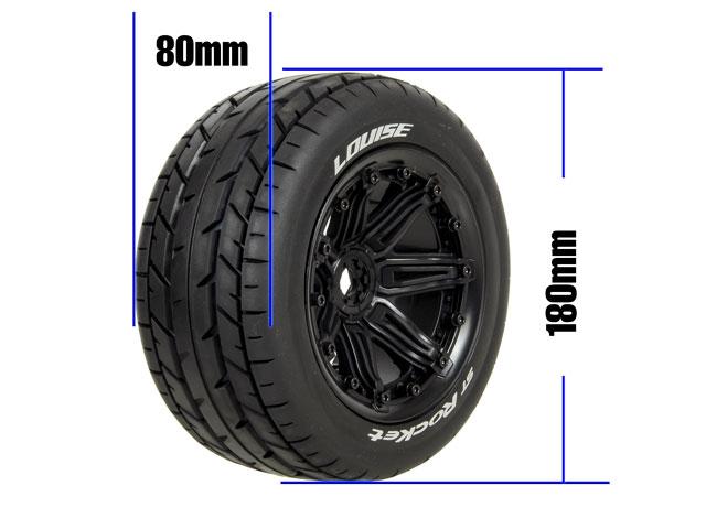 Louise 1/8 Tires ST ROCKET #L-T3286B Combo2 008