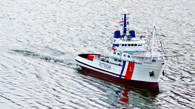 Tàu Cứu Hộ biển Towing Boat Rottedam RTR 130cm