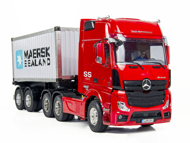 Benz 1851 + 20FT Container Semi Trailer 011